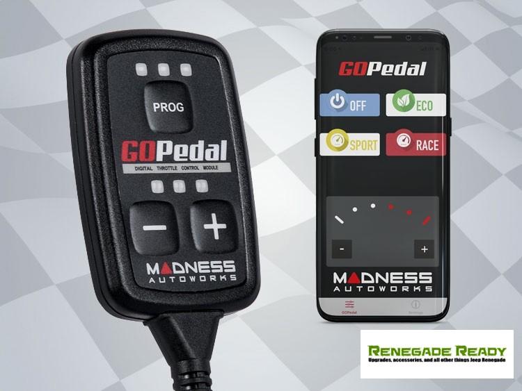 Jaguar F-Type Throttle Controller - MADNESS GOPedal - Bluetooth - 2.0L