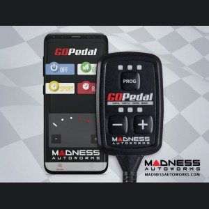 Maserati Ghibli Throttle Controller - MADNESS GOPedal - Bluetooth