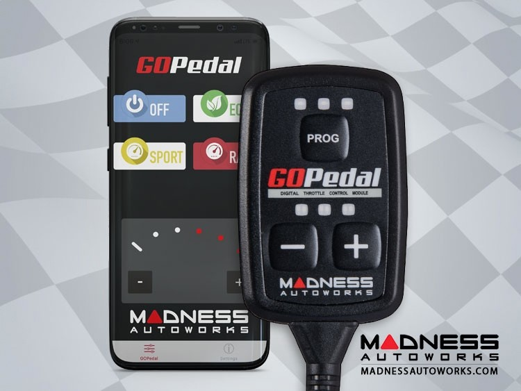 Jeep Gladiator JT 3.6L Throttle Controller - MADNESS GOPedal - Bluetooth
