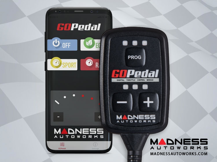 Tesla Model X Throttle Controller - MADNESS GOPedal - Bluetooth