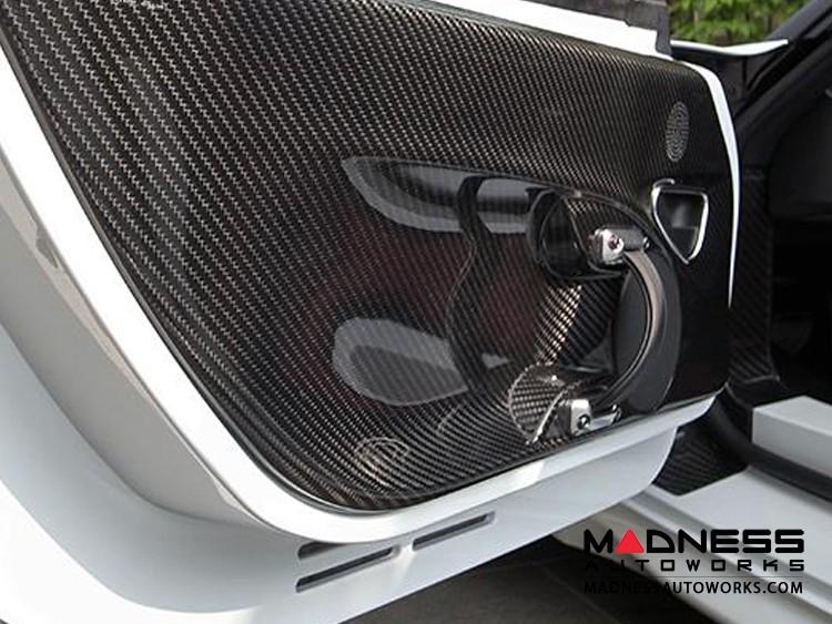 Alfa Romeo 4C Carbon Fiber Door Panels