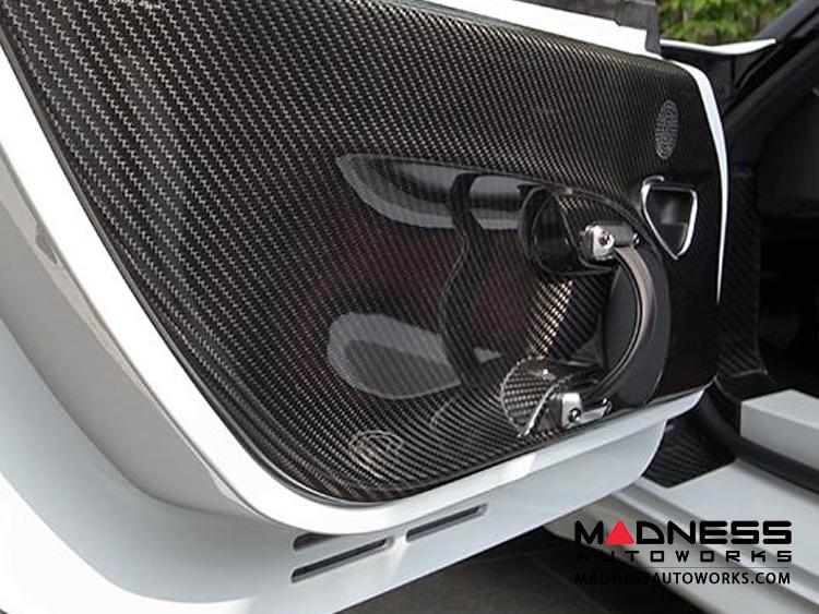 Alfa 4c Light Weight Carbon Fiber Door Card Alfa Romeo