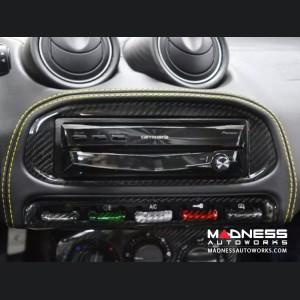 Alfa Romeo 4C Carbon Fiber Radio Cover Frame