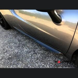 Alfa Romeo 4C Carbon Fiber Side Skirts - European Model
