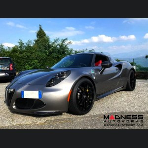Alfa Romeo 4C Carbon Fiber Side Skirts - European Model