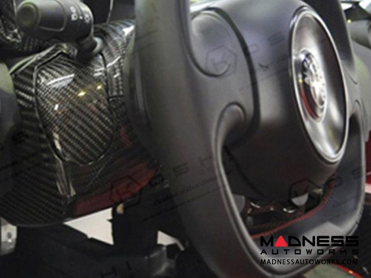 alfa romeo 4c steering wheel shroud trim set (no cruise ... alfa romeo cruise control diagram alfa romeo 4c engine diagram
