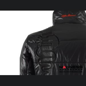 Alfa Romeo Jacket - Black w/ Alfa Romeo Logo - Medium