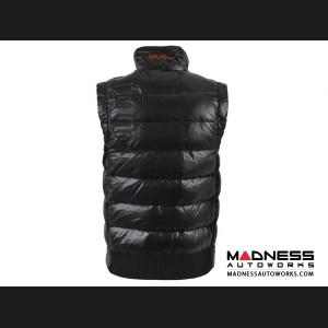 Alfa Romeo Vest - Black w/ Alfa Romeo Logo - Medium