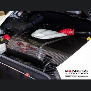 Alfa Romeo 4C Carbon Fiber Engine Cover