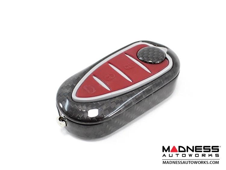 Alfa Romeo 4C Key Fob Cover - Carbon Fiber