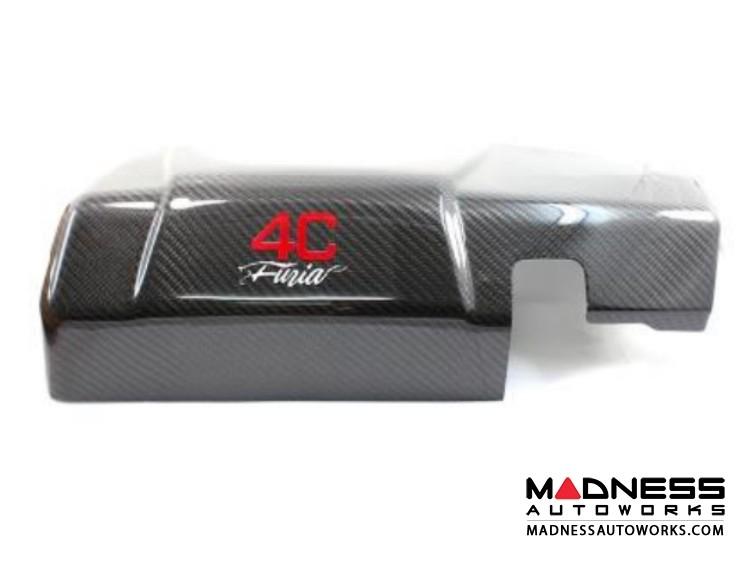 Alfa Romeo 4C Carbon Fiber Engine Cover - Furia