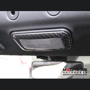 Alfa Romeo 4C Carbon Fiber Dome Light Trim