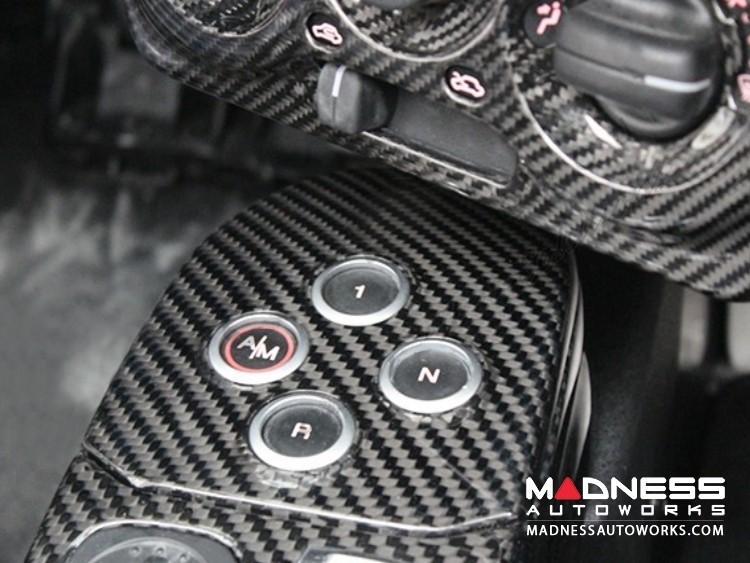 Alfa Romeo 4C Carbon Fiber Gear Selector Trim - MTA
