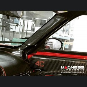 Alfa Romeo 4C Carbon Fiber  Interior A-Pillar Trim