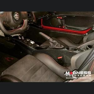 Alfa Romeo 4C Center Console Tunnel - Carbon Fiber