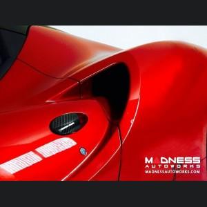 Alfa Romeo 4C Carbon Fiber Exterior Door Handle Trim Set