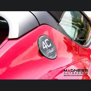 Alfa Romeo 4C Carbon Fiber Fuel Door - Furia