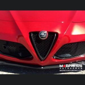 Alfa Romeo 4C Carbon Fiber Front Bumper Center Grille Frame
