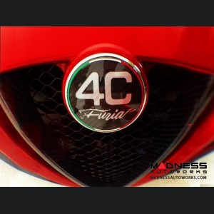 Alfa Romeo 4C Carbon Fiber Badge Cover Kit - Furia