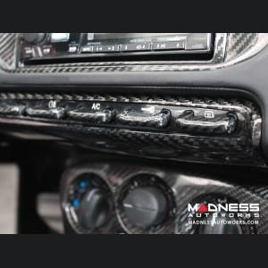 Alfa Romeo 4C Carbon Fiber Control Panel Frame Cover