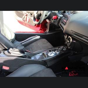 Alfa Romeo 4C Carbon Fiber e-Brake Handle - Italian Flag Theme