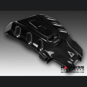Alfa Romeo Giulia Engine Cover - Carbon Fiber - Quadrifoglio Version