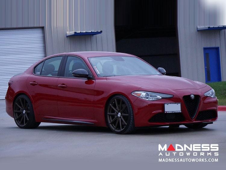 Alfa Romeo Giulia Side Trim Kit - Quadrifoglio Style - Carbon Fiber