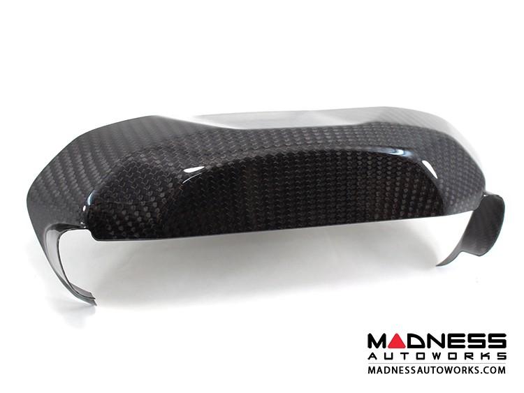 Alfa Romeo 4C Carbon Fiber Backside Instrument Gauge Cover