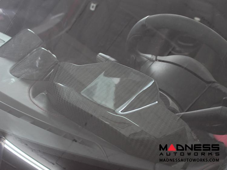 alfa romeo 4c backside instrument gauge cover carbon. Black Bedroom Furniture Sets. Home Design Ideas