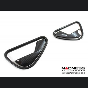Alfa Romeo 4C Carbon Fiber Interior Door Handle Set