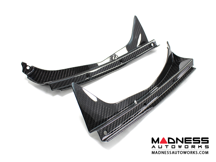 Alfa Romeo 4C Carbon Fiber Rear Trunk Side Trim - Coupe