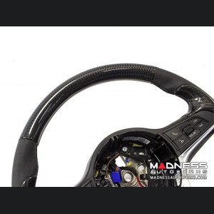 Alfa Romeo Giulia Steering Wheel Trim - Std Model - Upper Cover - Carbon Fiber