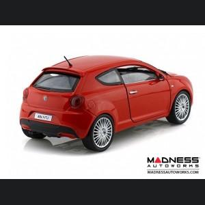 Alfa Romeo Mito Die Cast Model - 1:24 Scale - Red