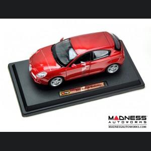Alfa Romeo Giulietta Die Cast Model - 1:24 Scale - Red