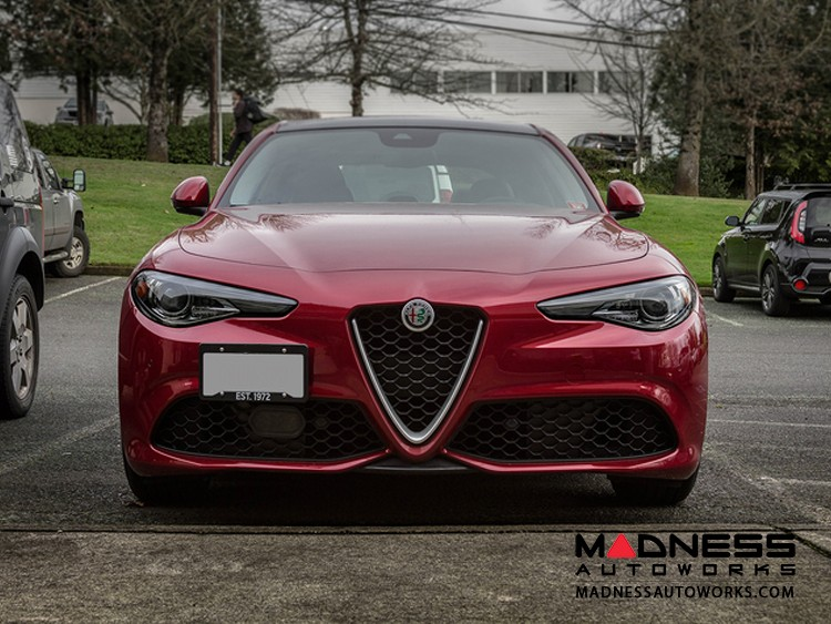 Alfa Romeo Giulia License Plate Mount - Platypus