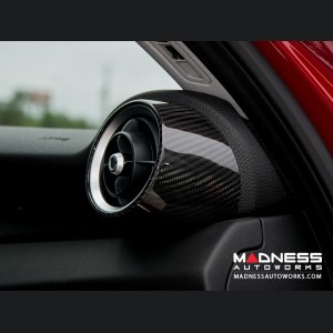 Alfa Romeo Giulia Air Vent Covers - Carbon Fiber