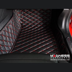 Volkswagen Golf 7 Liner Set - Black w/ Red Stitching (2012 - 2014)