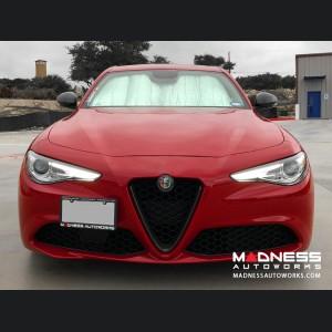 Alfa Romeo Giulia Sun Shade/ Reflector - Front Windshield - Blackout