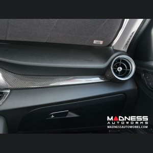 Alfa Romeo Giulia Dash Trim Kit - Carbon Fiber