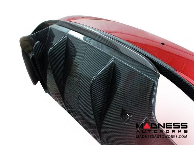 Alfa Romeo Giulia Rear Diffuser Lip - Quadrifoglio - Carbon Fiber