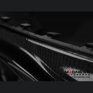 Alfa Romeo Giulia Diffuser - Carbon Fiber - Originale Lusso - Gloss Finish - Base Models