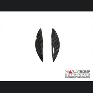 Alfa Romeo Stelvio Carbon Fiber Gear Knob Side Trim