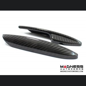 Alfa Romeo Stelvio Interior Door Handle Trim Set - Carbon Fiber