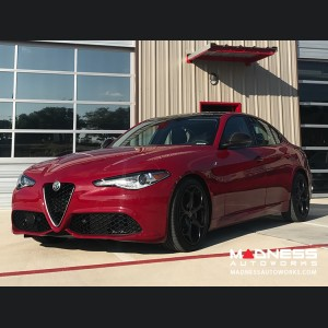 Alfa Romeo Giulia Mirror Covers - 100% Genuine Carbon Fiber