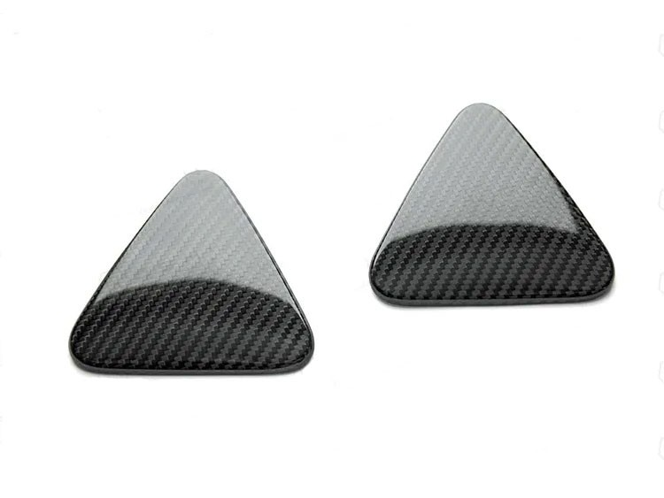 Alfa Romeo Giulia Quadrifoglio (QV) Fender Badge Cover - Carbon Fiber