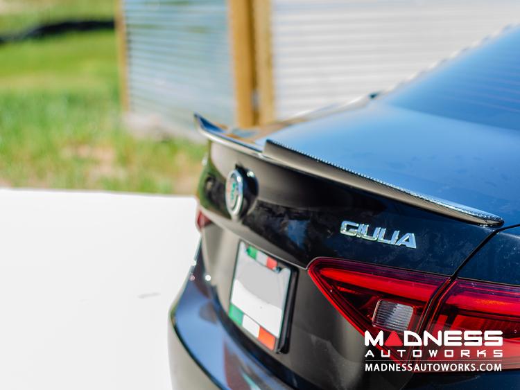Alfa Romeo Alfa Romeo Giulia Trunk Spoiler 100 Genuine Carbon