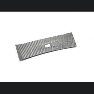 Alfa Romeo Giulia USB Trim Frame Cover - Carbon Fiber - White