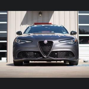 Alfa Romeo Giulia Mirror Covers - Forged Carbon Fiber - Feroce