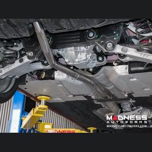 Alfa Romeo Giulia Performance Exhaust - 2.0L - MADNESS - Lusso - Slash Cut Tips