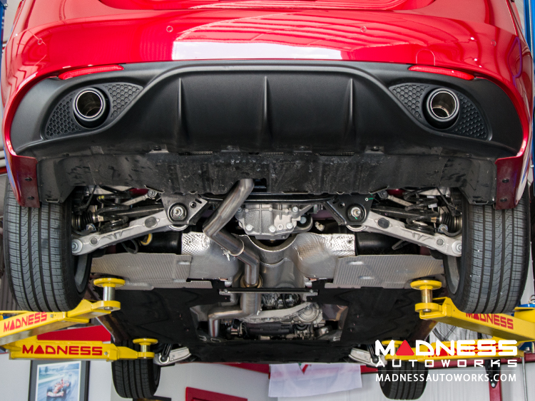 Alfa Romeo  Alfa Romeo Giulia 2.0L Performance Exhaust by MADNESS  Lusso  Dual Side Exit